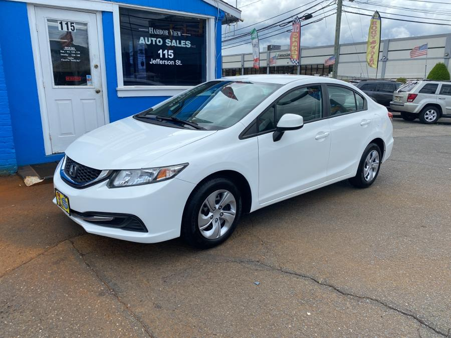 Used 2013 Honda Civic Sdn in Stamford, Connecticut | Harbor View Auto Sales LLC. Stamford, Connecticut