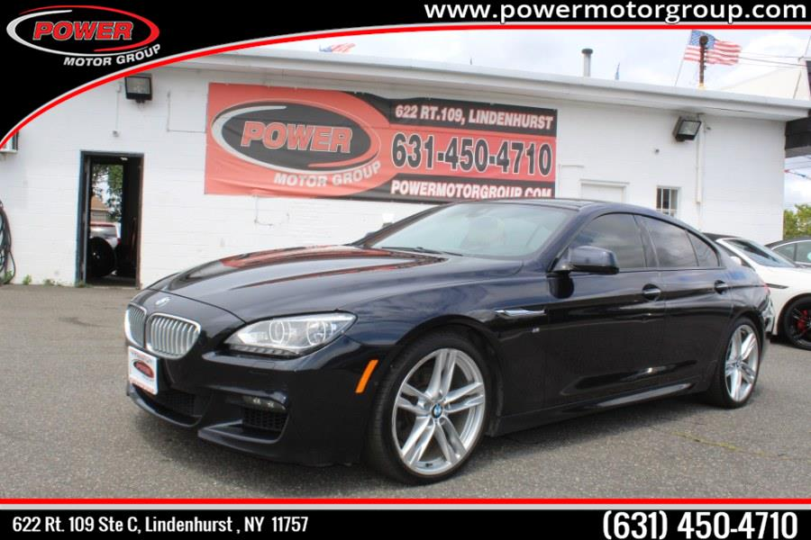 Used BMW 6 Series 4dr Sdn 650i xDrive AWD Gran Coupe 2015   Power Motor Group. Lindenhurst, New York