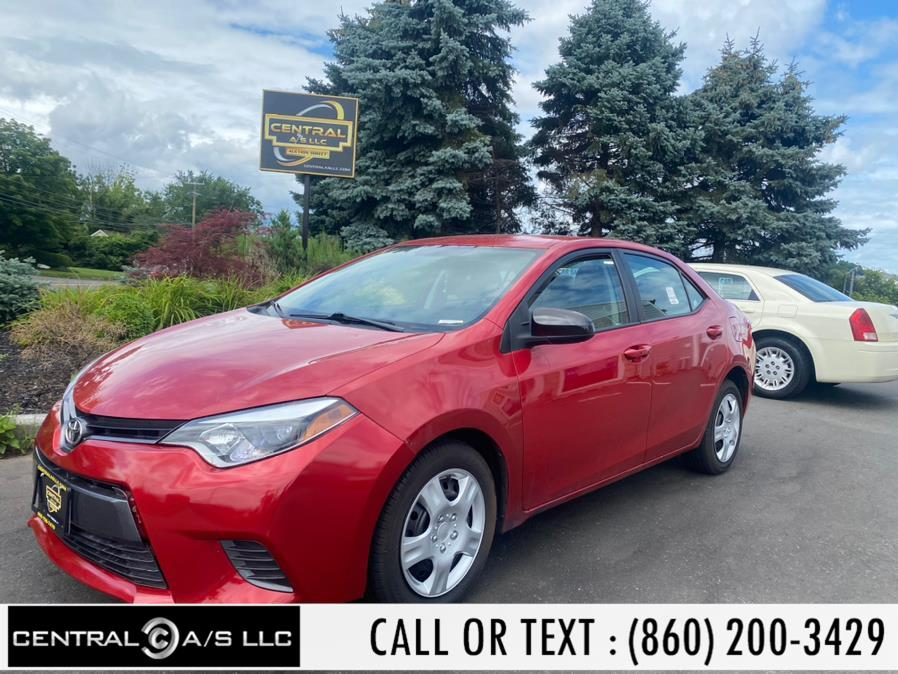 Used Toyota Corolla 4dr Sdn CVT LE Premium (Natl) 2015 | Central A/S LLC. East Windsor, Connecticut