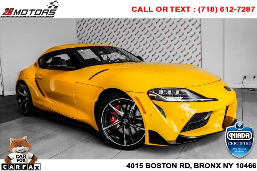 Used Toyota GR Supra 3.0 Premium Auto (Natl) 2021   26 Motors Corp. Bronx, New York