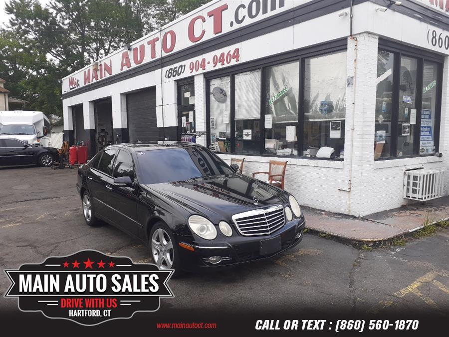 Used Mercedes-Benz E-Class 4dr Sdn 3.5L 4MATIC 2007   Main Auto Sales LLC. Hartford, Connecticut