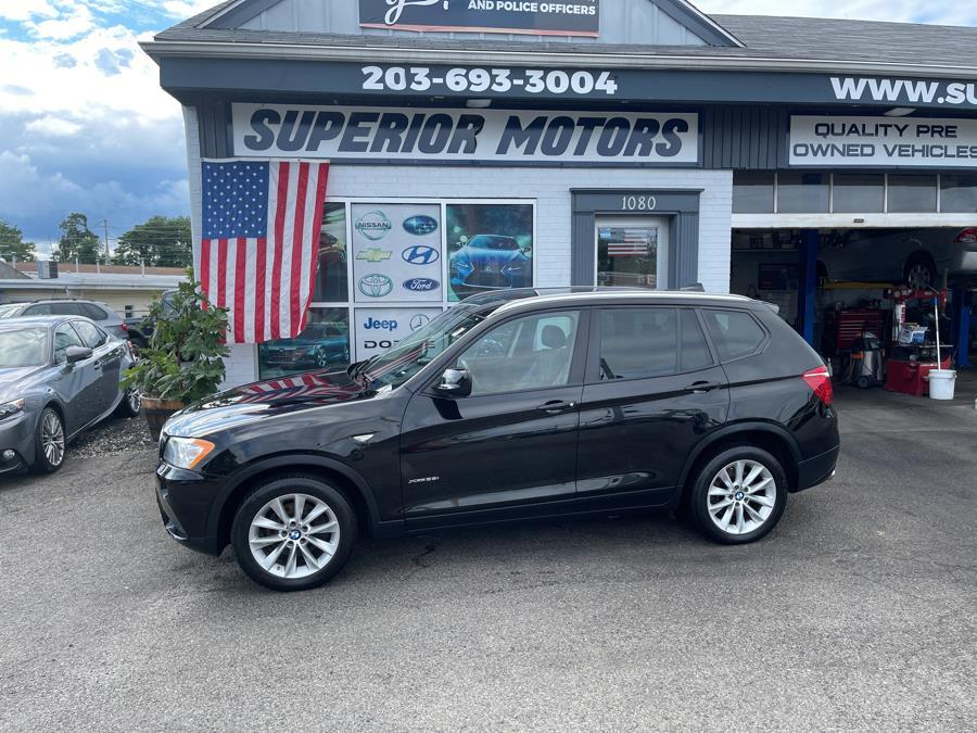 Used BMW X3 X3 LUXURY AWD 4dr xDrive28i 2014 | Superior Motors LLC. Milford, Connecticut