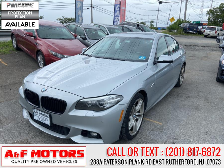 Used 2015 BMW 5 Series in East Rutherford, New Jersey | A&F Motors LLC. East Rutherford, New Jersey