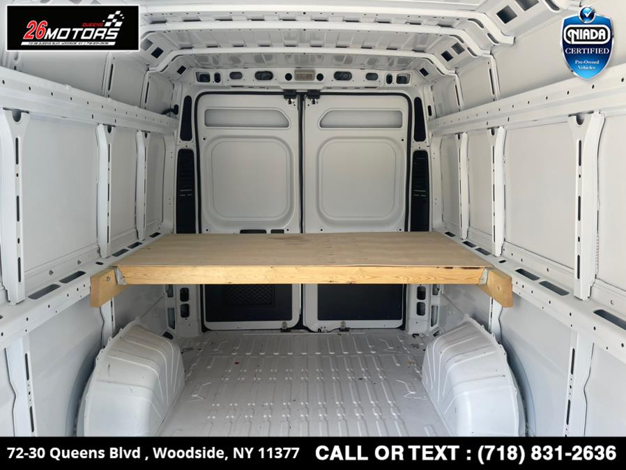 "Used Ram ProMaster Cargo Van 3500 High Roof 159"" WB EXT 2020 | 26 Motors Queens. Woodside, New York"