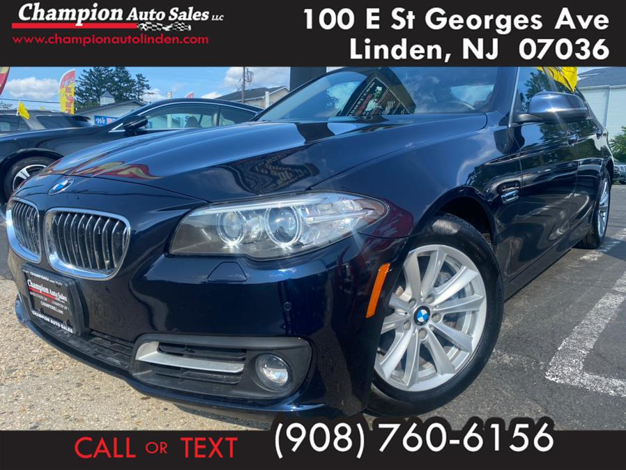 Used 2015 BMW 5 Series in Linden, New Jersey | Champion Auto Sales. Linden, New Jersey