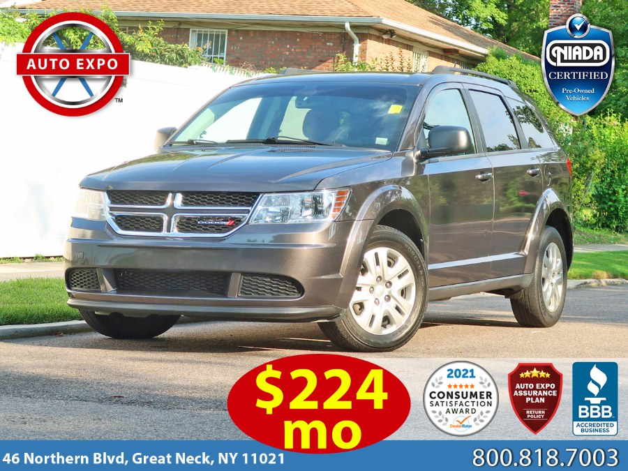 Used 2018 Dodge Journey in Great Neck, New York | Auto Expo Ent Inc.. Great Neck, New York