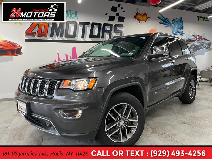 2018 Jeep Grand Cherokee Limited Limited 4x4, available for sale in Hollis, NY