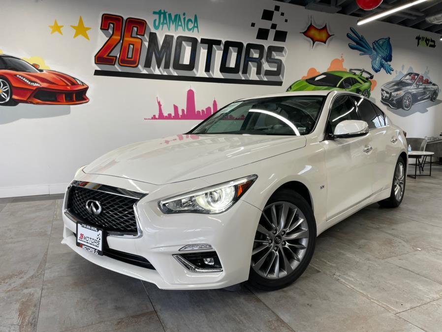 Used 2018 INFINITI Q50 LUXE in Hollis, New York | Jamaica 26 Motors. Hollis, New York