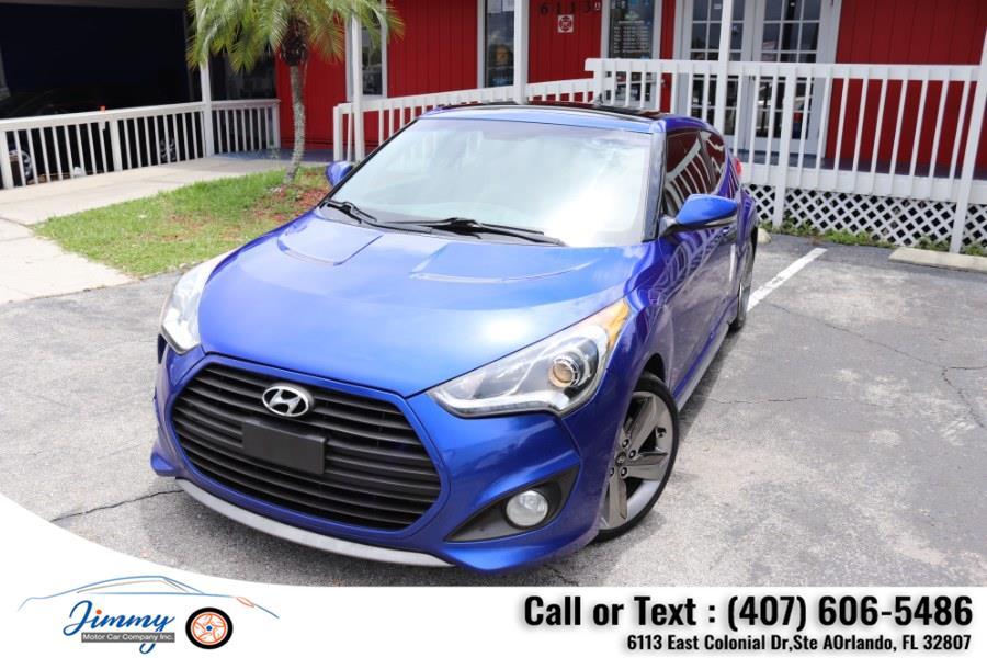 Used Hyundai Veloster 3dr Cpe Auto Turbo w/Black Int 2013 | Jimmy Motor Car Company Inc. Orlando, Florida