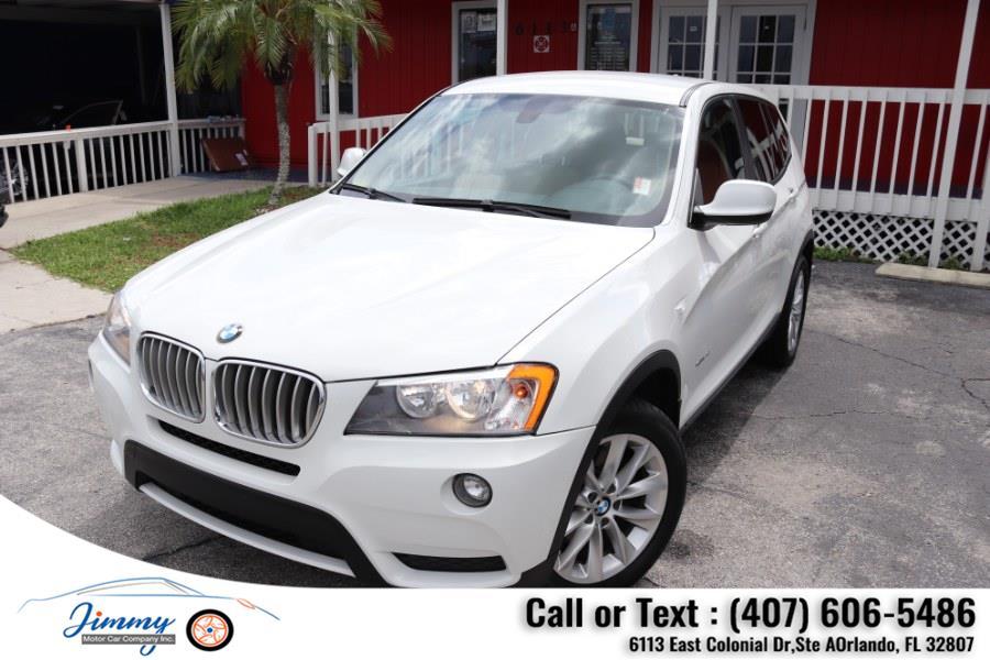 Used BMW X3 AWD 4dr xDrive28i 2014 | Jimmy Motor Car Company Inc. Orlando, Florida