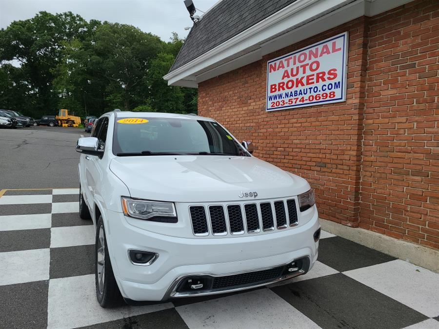 Used Jeep Grand Cherokee 4WD 4dr Overland 2014 | National Auto Brokers, Inc.. Waterbury, Connecticut