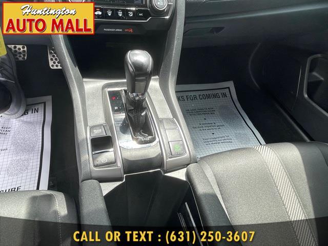 Used Honda Civic Hatchback Sport CVT 2017 | Huntington Auto Mall. Huntington Station, New York