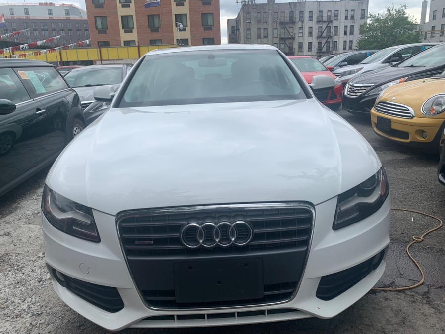 Used 2012 Audi A4 in Brooklyn, New York | Atlantic Used Car Sales. Brooklyn, New York