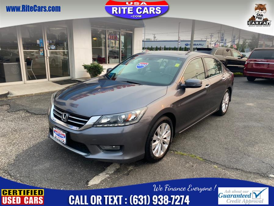 Used 2014 Honda Accord Sedan in Lindenhurst, New York | Rite Cars, Inc. Lindenhurst, New York