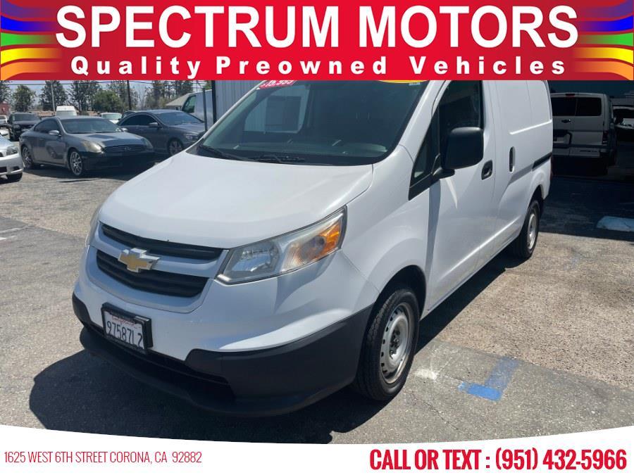 Used 2015 Chevrolet City Express Cargo Van in Corona, California | Spectrum Motors. Corona, California