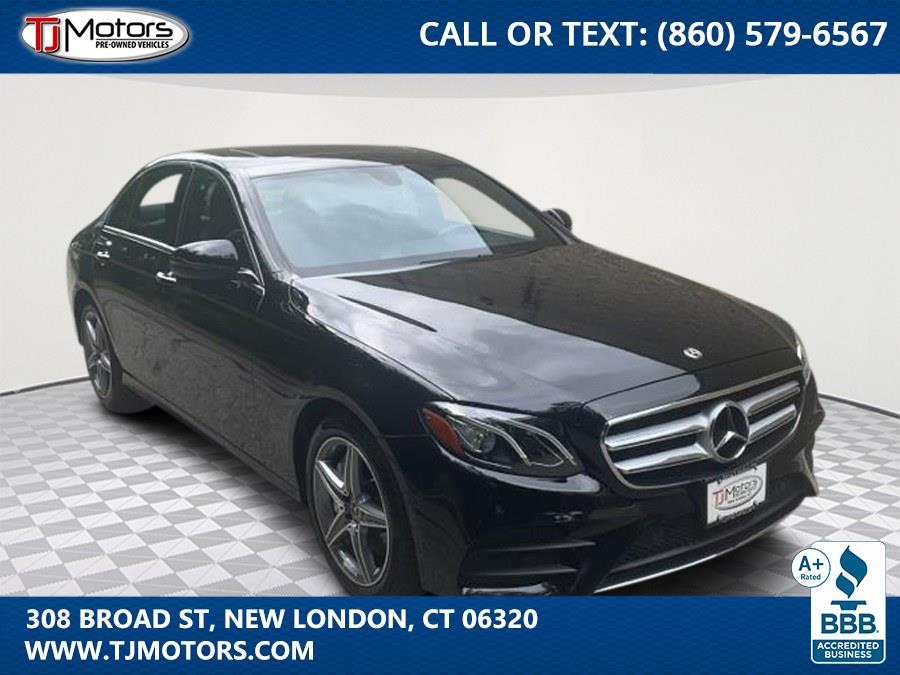 Used 2018 Mercedes-Benz E-Class in New London, Connecticut | TJ Motors. New London, Connecticut