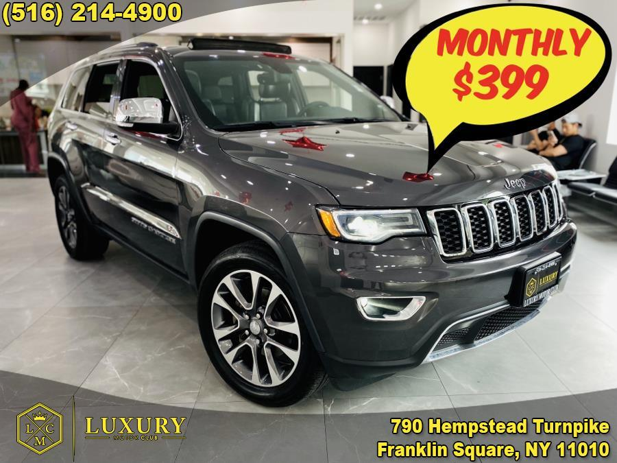 Used Jeep Grand Cherokee Limited 4x4 2018   Luxury Motor Club. Franklin Square, New York