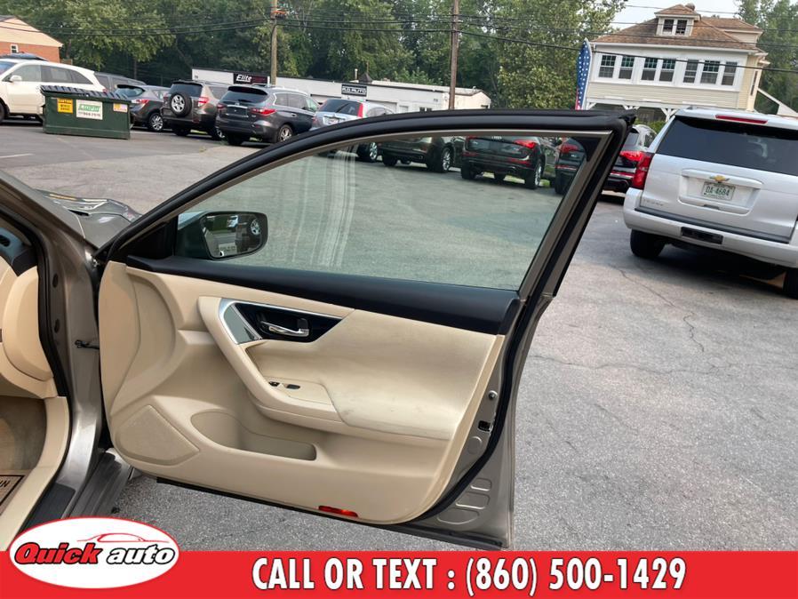 Used Nissan Altima 4dr Sdn I4 2.5 SV 2014   Quick Auto LLC. Bristol, Connecticut