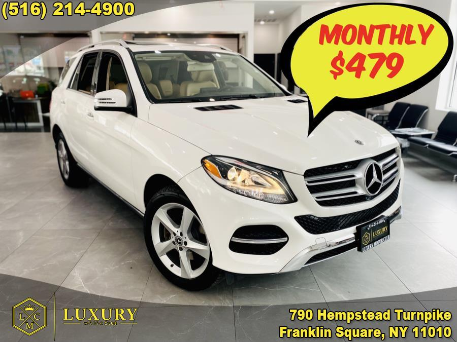 Used Mercedes-Benz GLE GLE 350 4MATIC SUV 2018   Luxury Motor Club. Franklin Square, New York