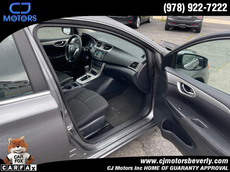 Used Nissan Sentra 4dr Sdn I4 CVT SV 2015 | CJ Motors Inc. Beverly, Massachusetts