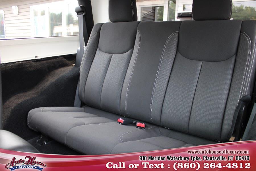 Used Jeep Wrangler Sahara 4x4 2017   Auto House of Luxury. Plantsville, Connecticut