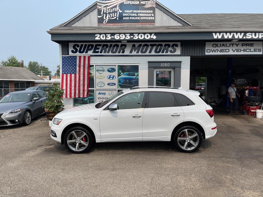 Used Audi Q5 S Q5  QUATTRO SPORT quattro 4dr 2.0T Premium Plus 2013 | Superior Motors LLC. Milford, Connecticut
