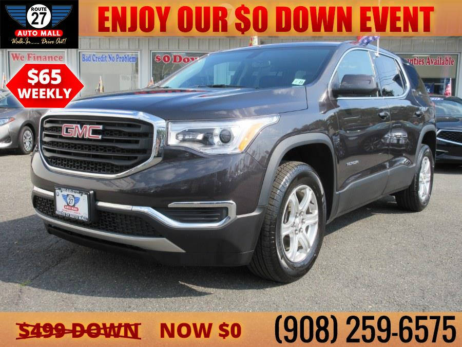 Used 2018 GMC Acadia in Linden, New Jersey | Route 27 Auto Mall. Linden, New Jersey