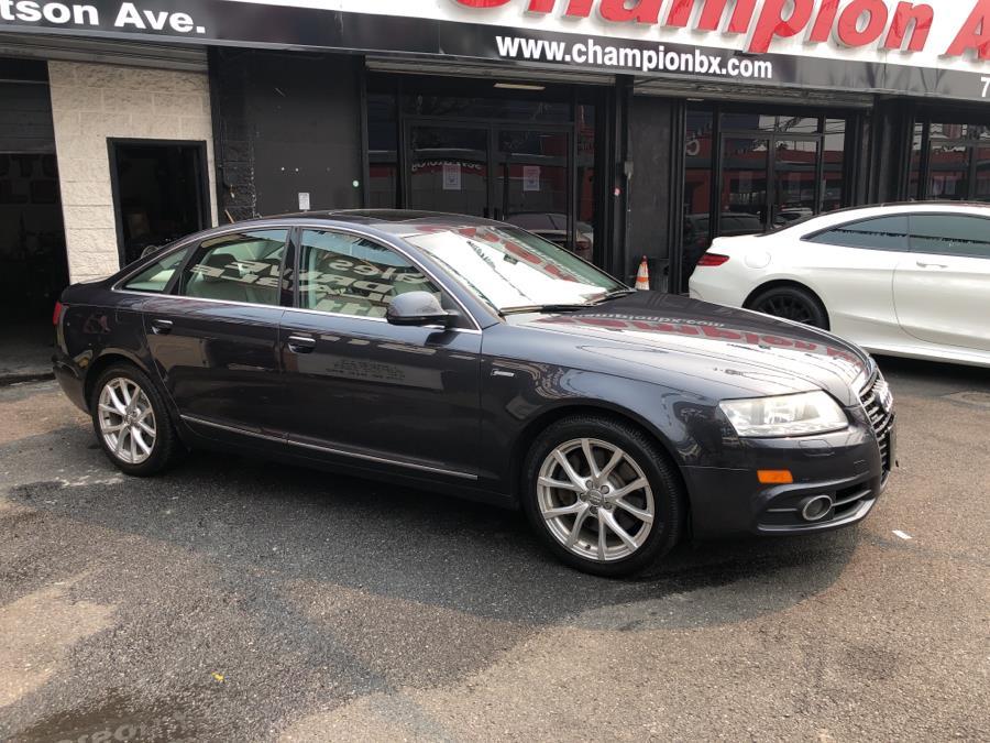 Used Audi A6 4dr Sdn quattro 3.0T Premium Plus 2011   Champion Auto Sales Of The Bronx. Bronx, New York