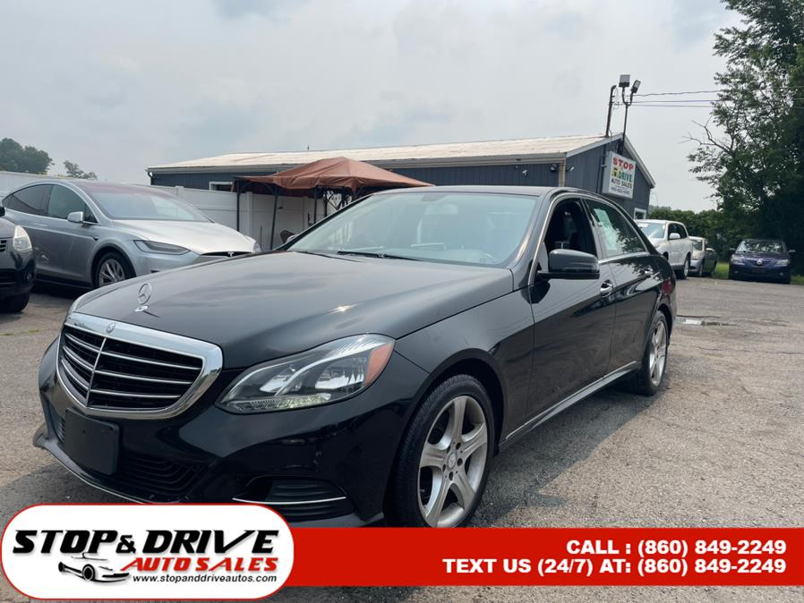 Used Mercedes-Benz E-Class 4dr Sdn E 350 Luxury 4MATIC 2014 | Stop & Drive Auto Sales. East Windsor, Connecticut