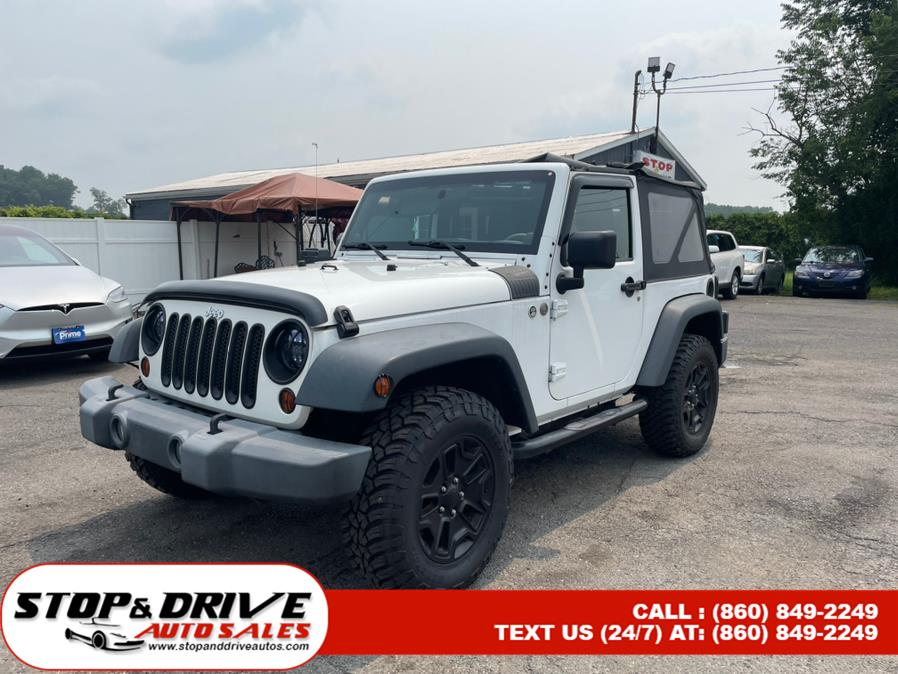 Used Jeep Wrangler 4WD 2dr Sport 2014 | Stop & Drive Auto Sales. East Windsor, Connecticut
