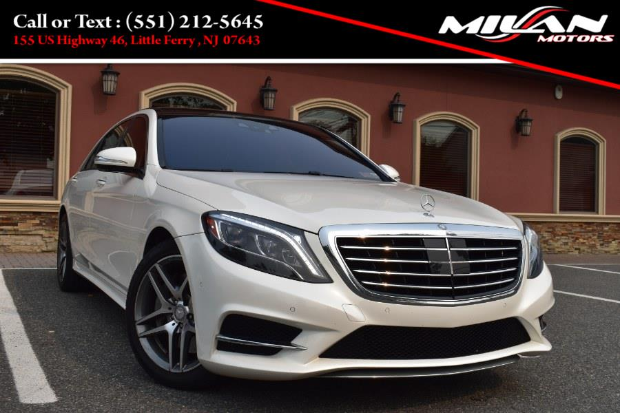Used Mercedes-Benz S-Class 4dr Sdn S550 4MATIC 2016   Milan Motors. Little Ferry , New Jersey