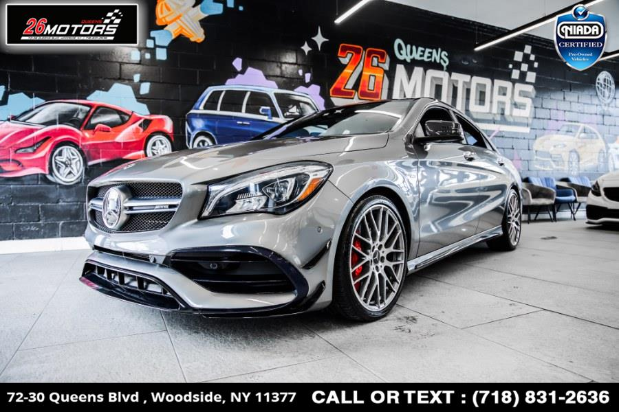 Used Mercedes-Benz CLA AMG CLA 45 4MATIC Coupe 2018 | 26 Motors Queens. Woodside, New York