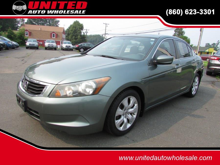 Used Honda Accord Sdn 4dr I4 Auto EX 2009   United Auto Sales of E Windsor, Inc. East Windsor, Connecticut