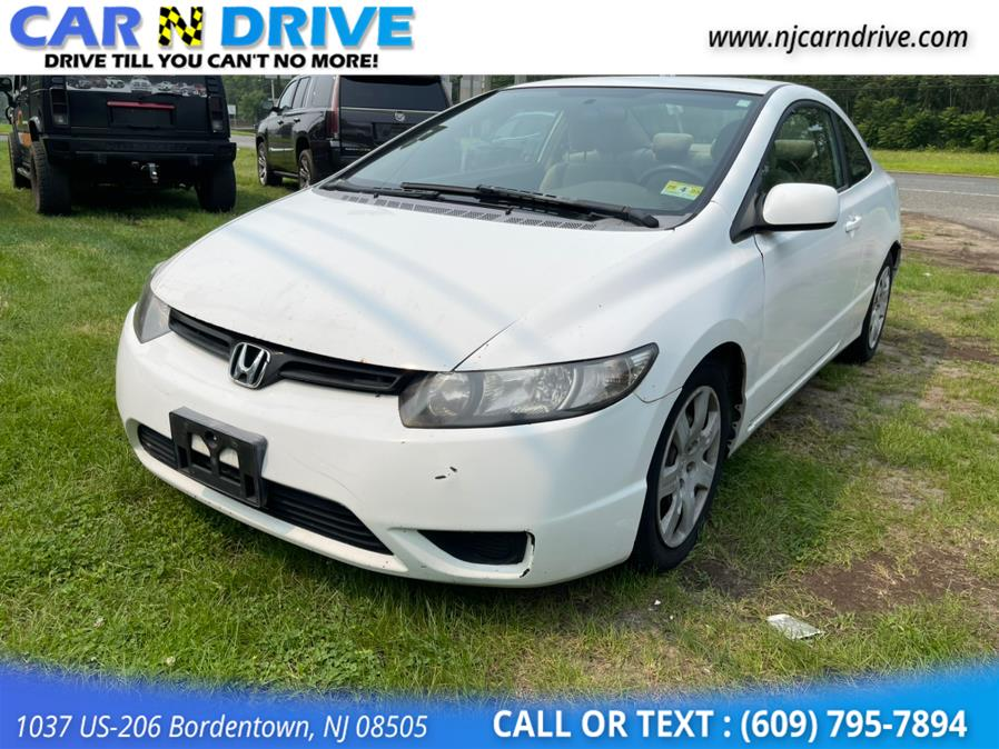 Used Honda Civic LX Coupe AT 2008 | Car N Drive. Bordentown, New Jersey