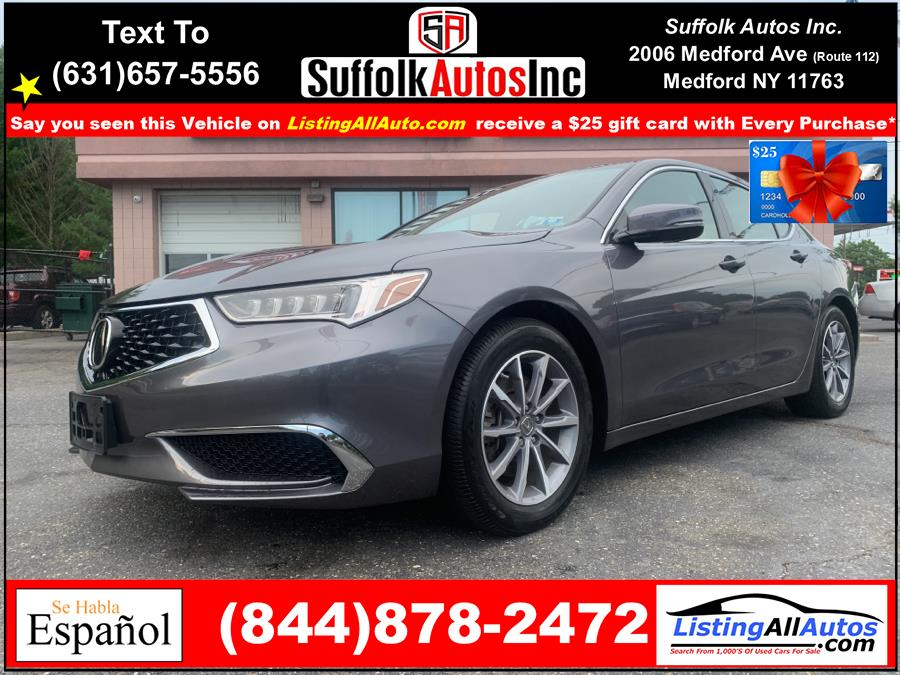 Used 2019 Acura TLX in Patchogue, New York | www.ListingAllAutos.com. Patchogue, New York