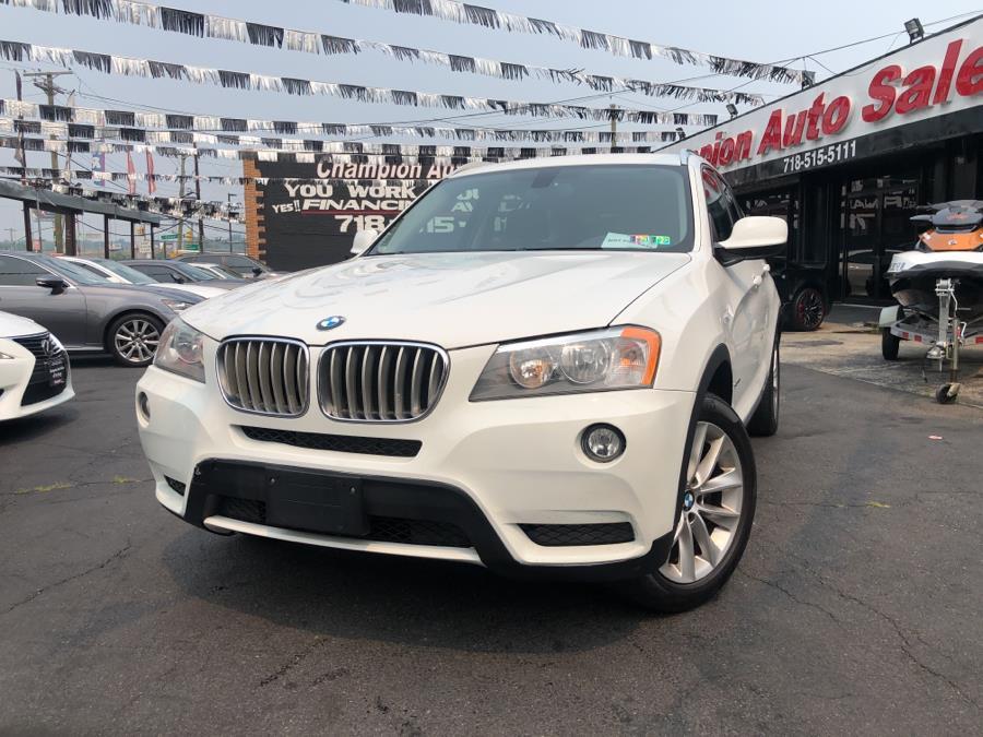 Used 2014 BMW X3 in Bronx, New York | Champion Auto Sales. Bronx, New York