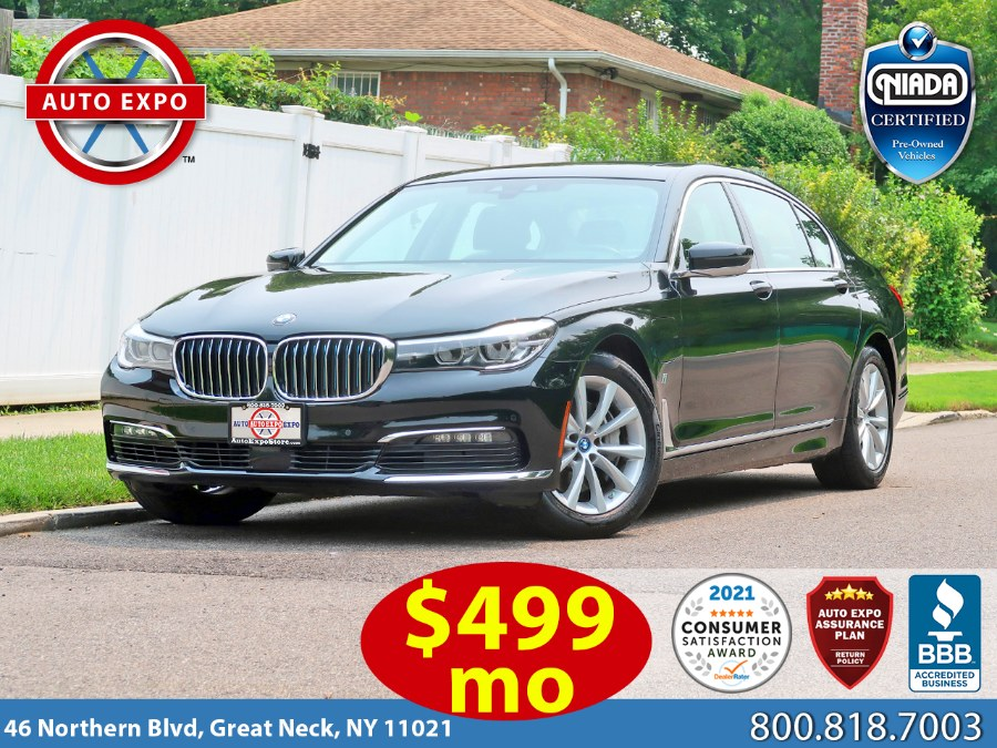 Used BMW 7 Series 740e xDrive iPerformance 2018   Auto Expo Ent Inc.. Great Neck, New York