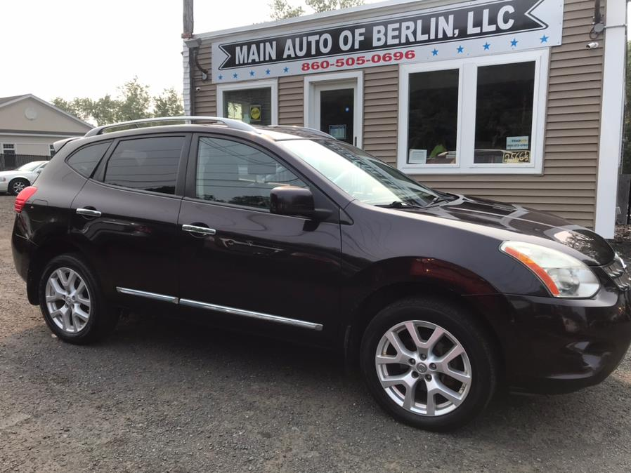 Used Nissan Rogue AWD 4dr S 2011 | Main Auto of Berlin. Berlin, Connecticut