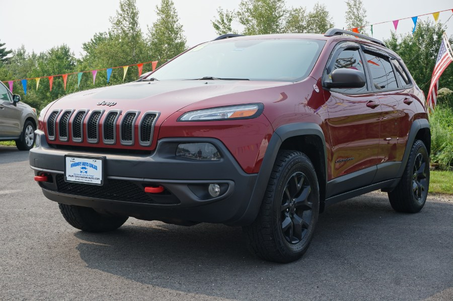 Used Jeep Cherokee 4WD 4dr Trailhawk 2016 | Fairway Auto Sales. Hancock, Maine
