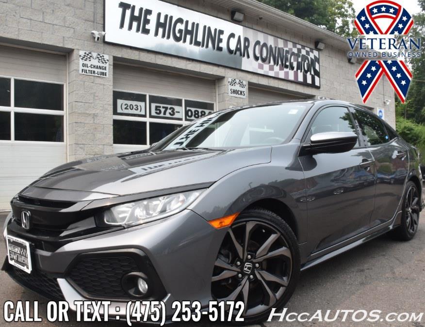 Used 2018 Honda Civic Hatchback in Waterbury, Connecticut | Highline Car Connection. Waterbury, Connecticut