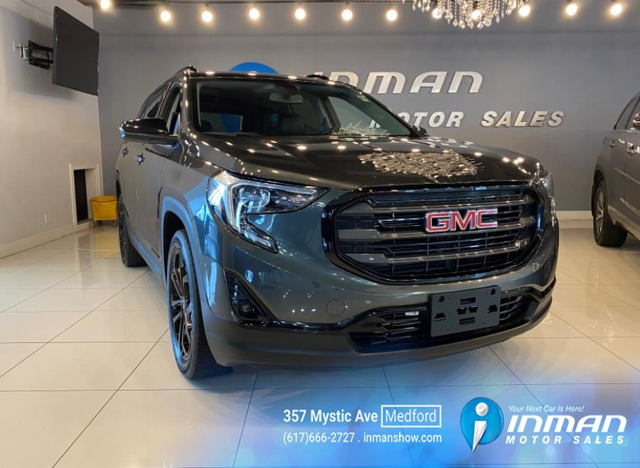 Used GMC Terrain FWD 4dr SLT 2019 | Inman Motors Sales. Medford, Massachusetts