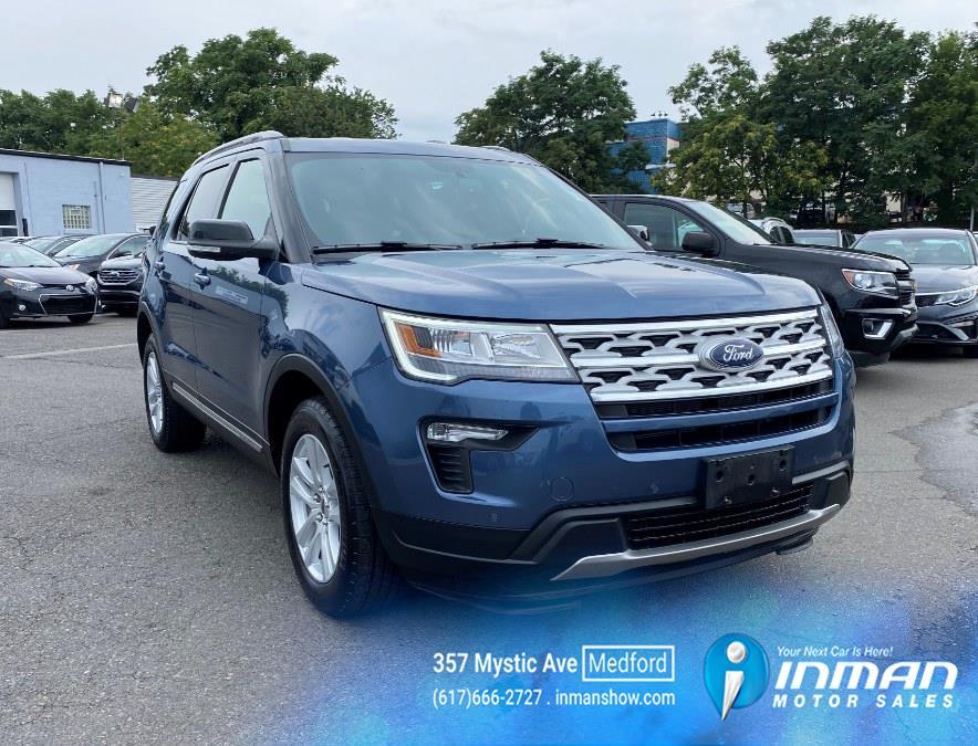Used Ford Explorer XLT 4WD 2018 | Inman Motors Sales. Medford, Massachusetts