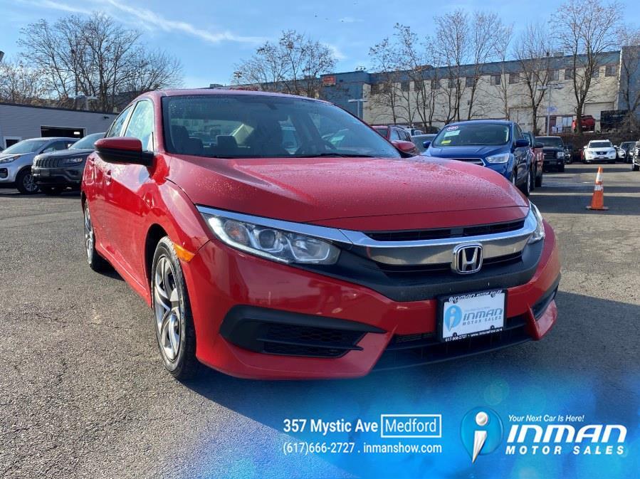Used Honda Civic Sedan 4dr CVT LX 2016   Inman Motors Sales. Medford, Massachusetts