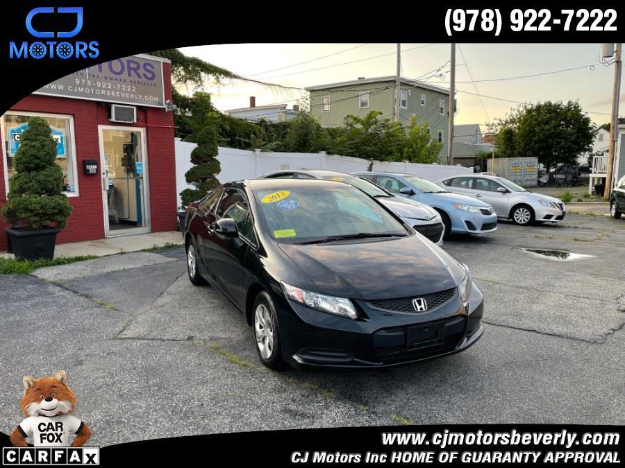 Used 2013 Honda Civic Cpe in Beverly, Massachusetts | CJ Motors Inc. Beverly, Massachusetts