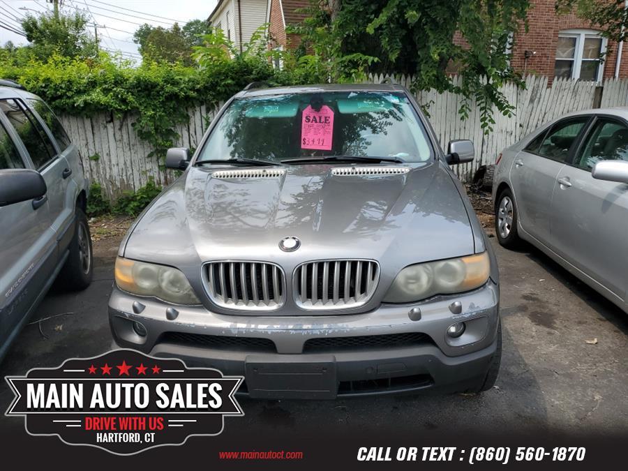 Used BMW X5 X5 4dr AWD 4.4i 2005 | Main Auto Sales LLC. Hartford, Connecticut