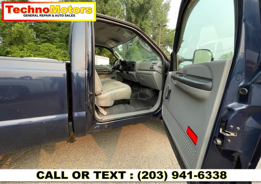 """Used Ford Super Duty F-250 Reg Cab 137"""" XL 4WD 2005   Techno Motors . Danbury , Connecticut"""
