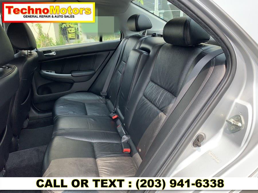 Used Honda Accord Sdn 4dr V6 AT EX-L 2007   Techno Motors . Danbury , Connecticut