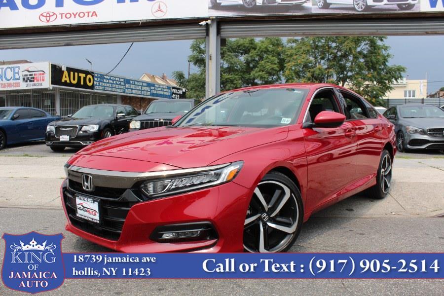 Used Honda Accord Sedan Sport 1.5T CVT 2018 | King of Jamaica Auto Inc. Hollis, New York