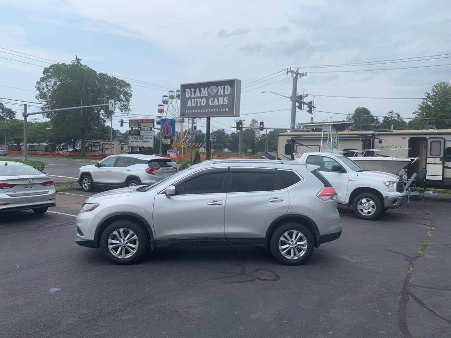 2014 Nissan Rogue AWD 4dr SV, available for sale in Vernon, CT