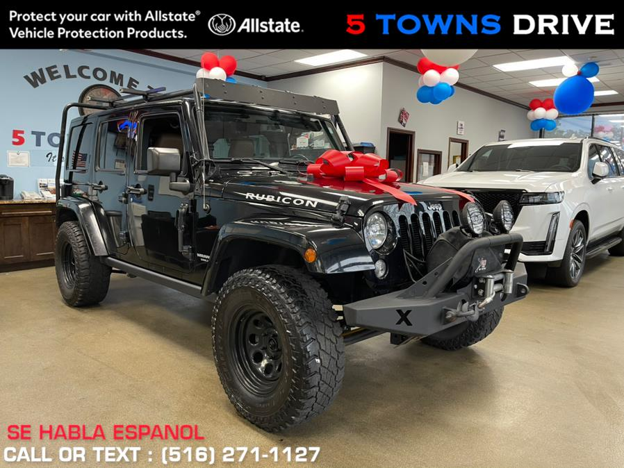 Used Jeep Wrangler Unlimited 4WD 4dr Rubicon Hard Rock 2016 | 5 Towns Drive. Inwood, New York